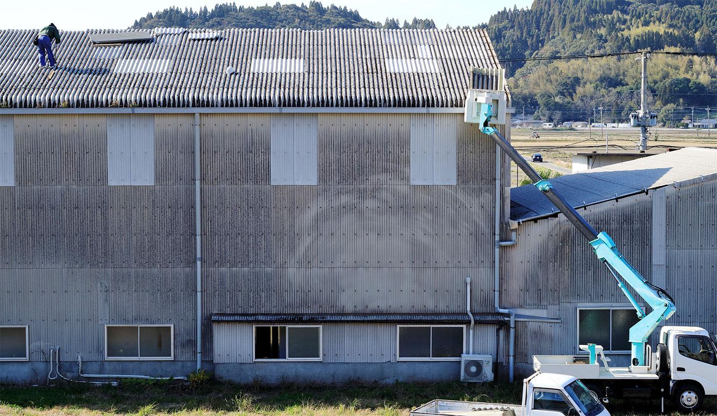屋根の部分張替え