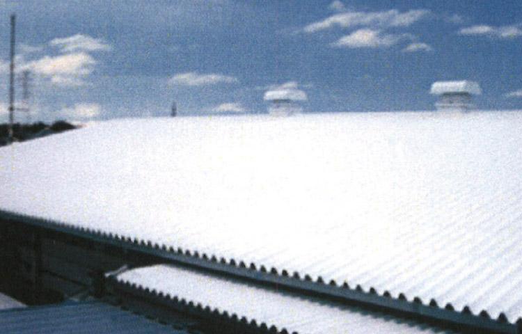 屋根の色塗り(防水、遮熱等)